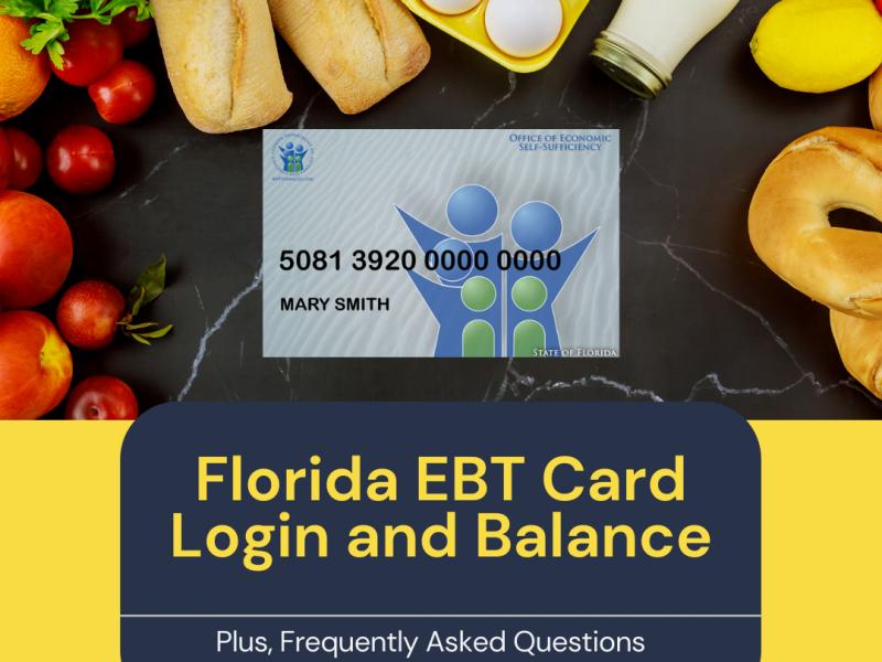 """""""Florida EBT Card Login and Balance"""""""