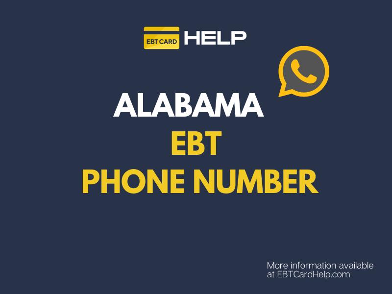 """""""Alabama EBT Customer Service Contact"""""""