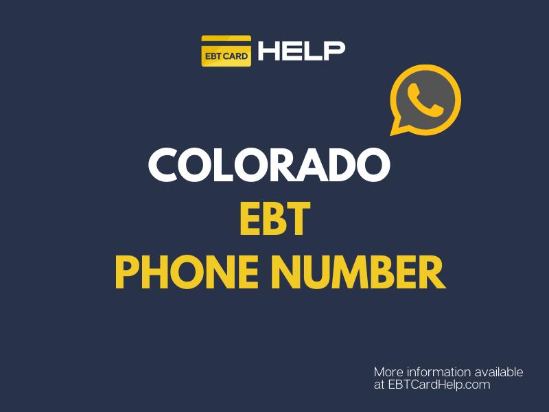"""Colorado EBT Customer Service"""