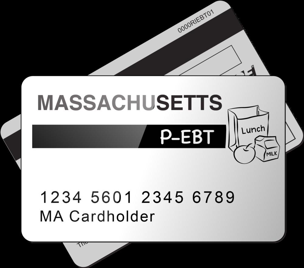 """""""Massachusetts P-EBT Card"""""""
