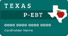 """Texas P-EBT Card"""